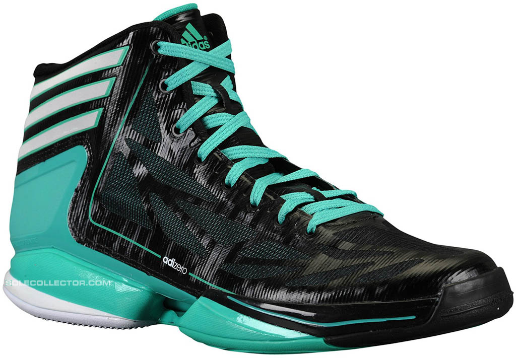 Adidas AdiZero Crazy Light 2 Black Green G59158 (1) Awesome Design