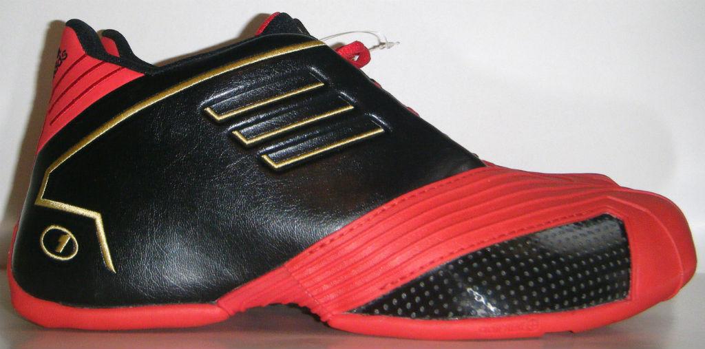 bc9204462f0a adidas TMAC 1 Black Red Gold (1)
