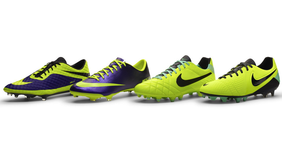 Nike Football Soccer High Visibility colorways