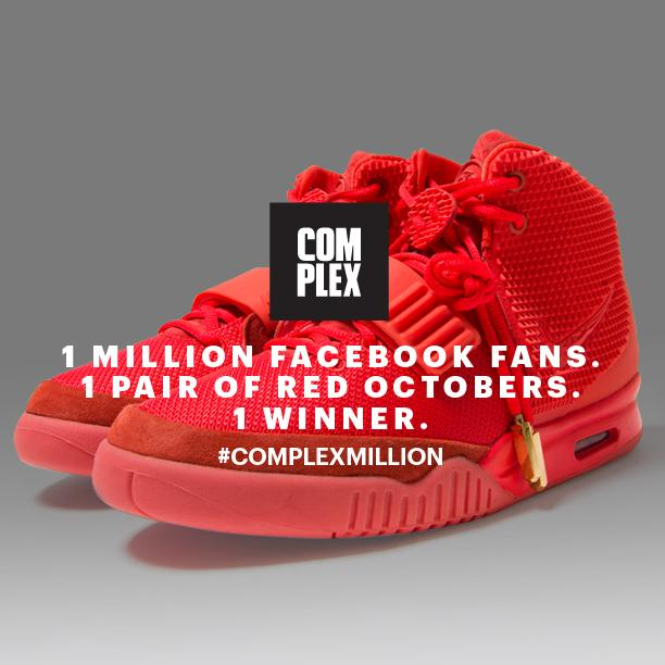 Complex is Giving Away a Pair of Red Octobers