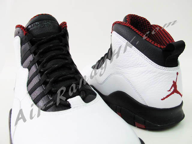 769a87135b82 Air Jordan 10 X Chicago White Black Varsity Red 310805-100