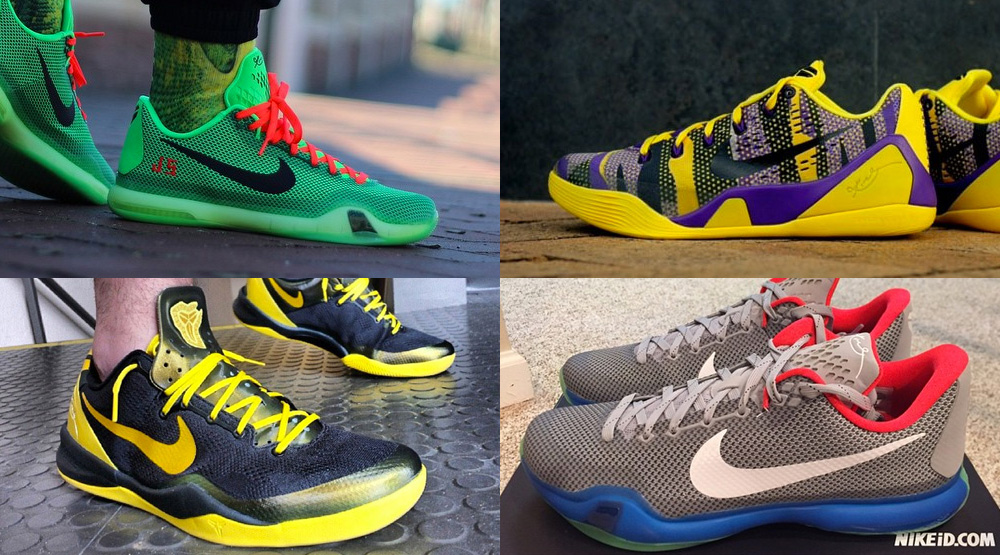The 50 Best Kobe-Inspired NIKEID Designs On Instagram