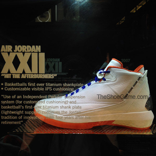 Air Jordan XX2 22 New York Knicks Collection