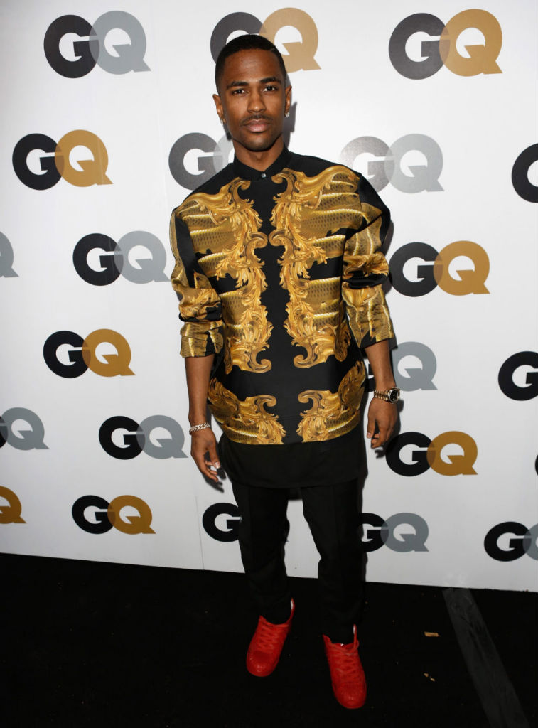 Big Sean wearing adidas Originals Pro Model Detroit Players (1)