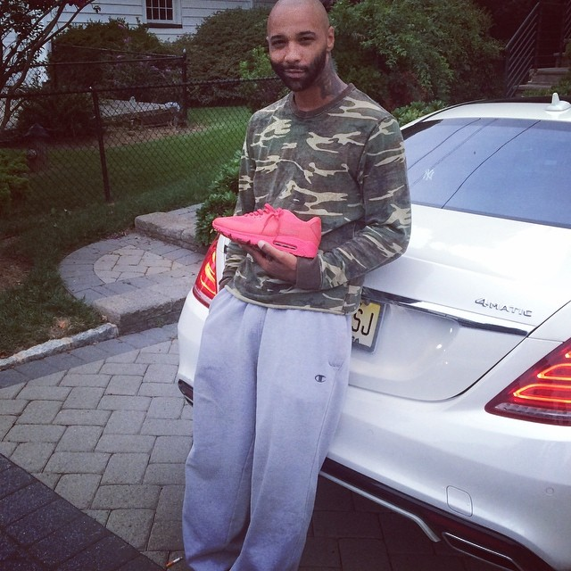 Joe Budden Picks Up Nike Air Max 90 Hyperfuse