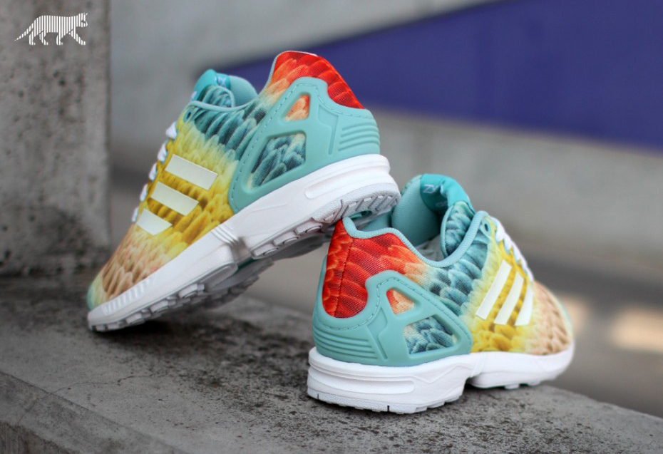 new product ffabf 4c2af adidas ZX Fluxes of a Feather | Sole Collector