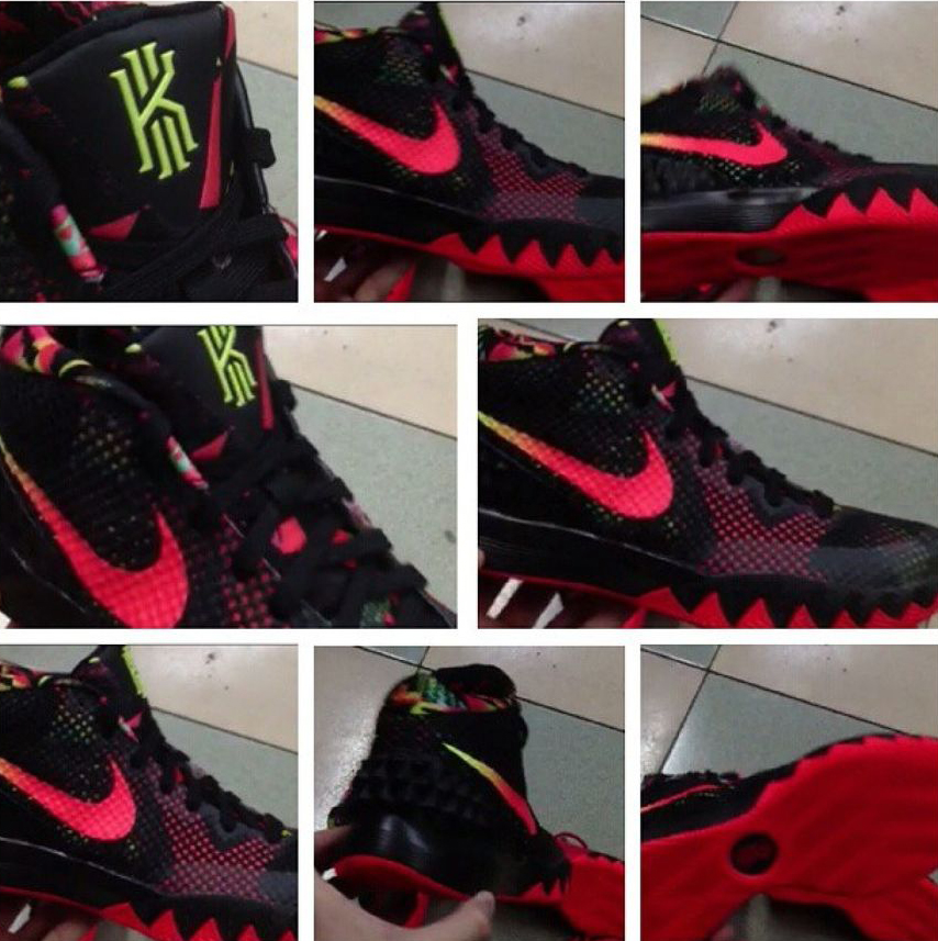 nike dunk high pics of kyrie irving shoes
