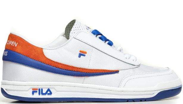 Fila Original Tennis White/Orange-Royal