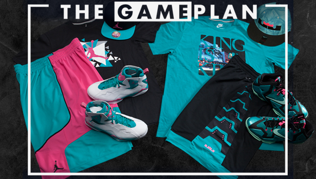 70a67c144b1f88 The Game Plan by Champs Sports Presents the South Beach Collection ...