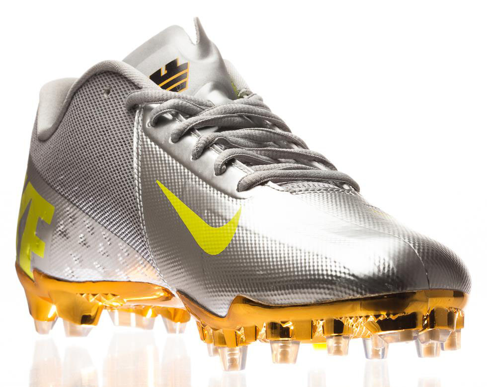 Nike Elite11 Vapor Talon Elite Cleats - Silver (7)