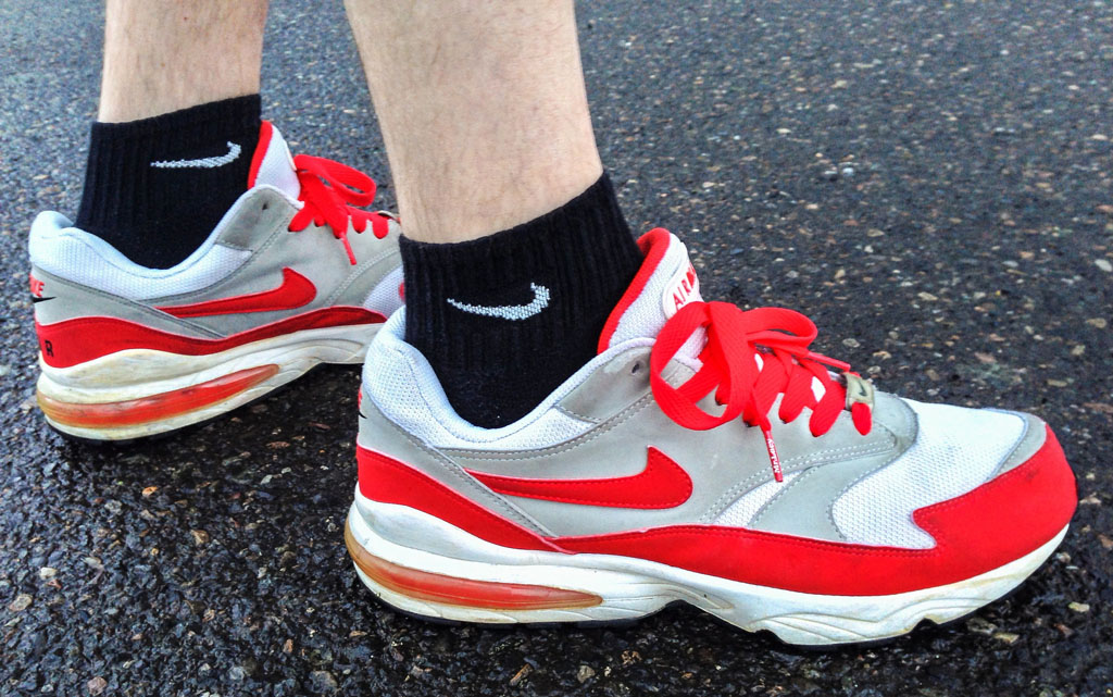 Spotlight: Forum Staff Weekly WDYWT? - 4.20.14 - DRUMattX wearing Nike Air Burst '99 Sport Red