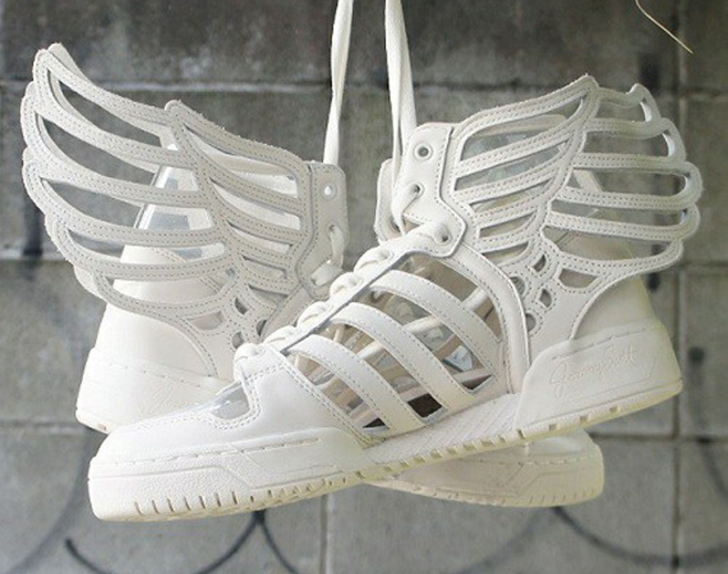 Jeremy Scott and adidas Originals are back with another new look for the JS  Wings 2.0. e8469eed9