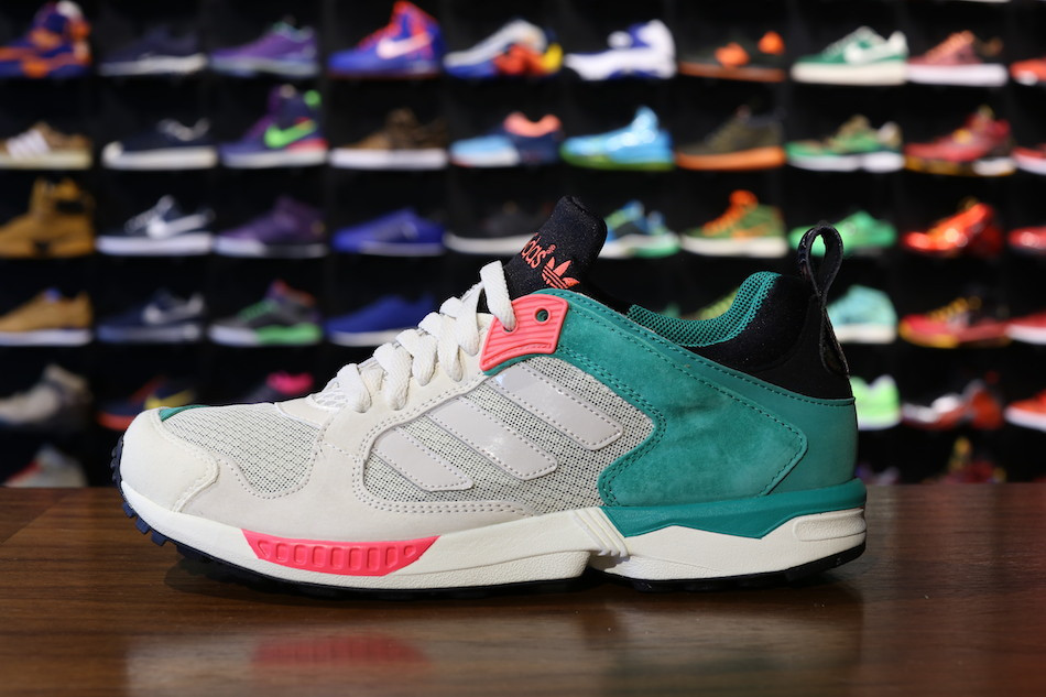 check out f3ccc e53f9 adidas ZX 5000 RSPN - 'Aluminum/Red Zest' | Sole Collector