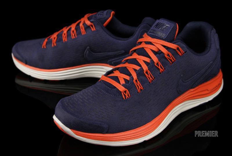 Nike LunarGlide+ 4 Orange Blue