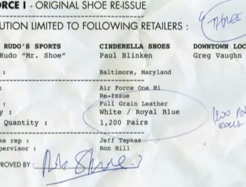 7005fb1e7b275 Nike Honors the Retailers Who Saved the Air Force 1