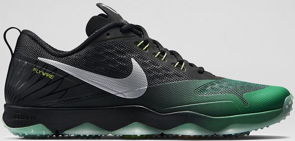 Nike Zoom Hypercross TR Black/Kelly Green-Metallic Silver-Volt