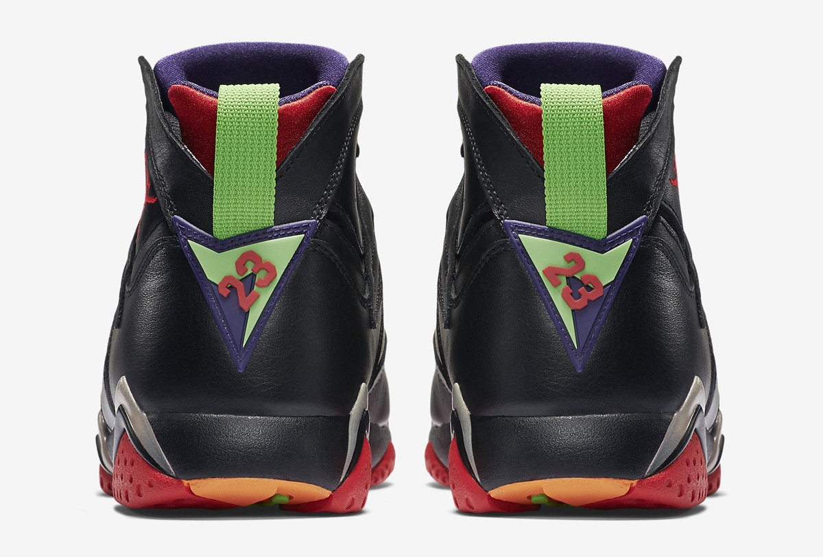 d827a5fb200 Here's Marvin the Martian's Air Jordan 7 On-Foot   Sole Collector