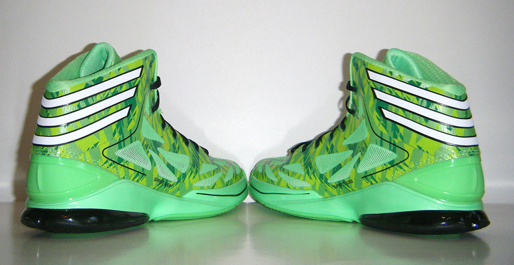 adidas adiZero Crazy Light 2 Neon Green Camo (9)