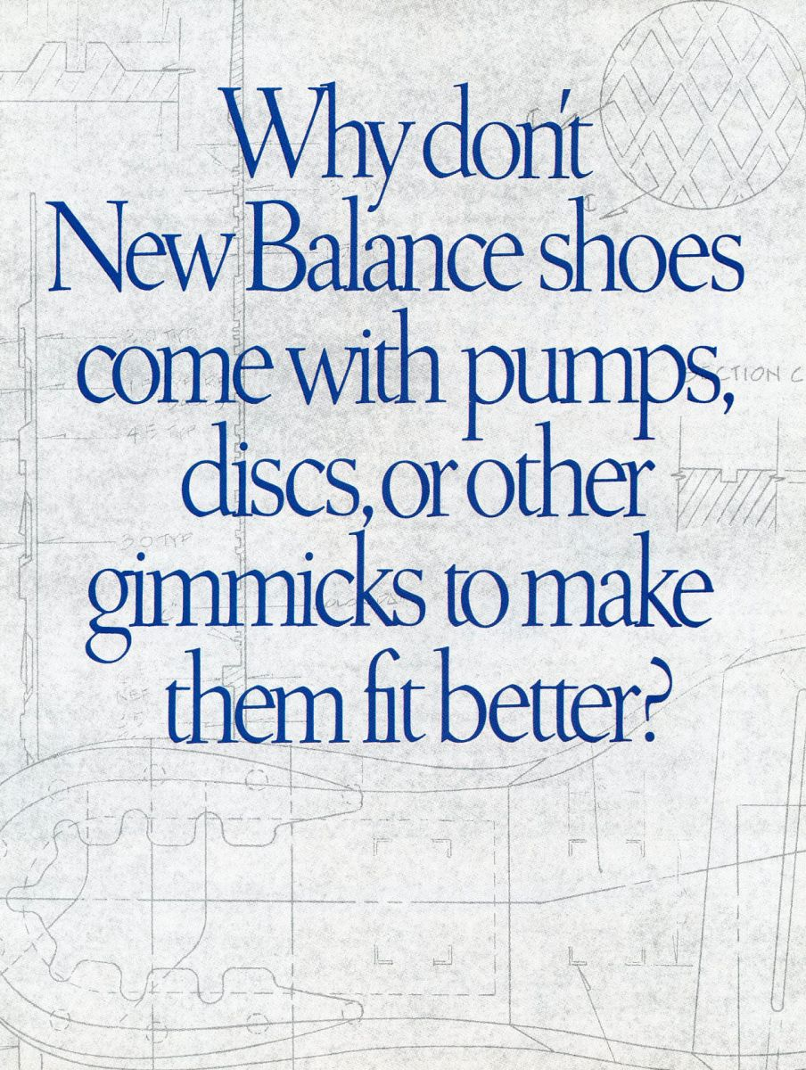 Vintage Ad: New Balance Running 1993 | Sole Collector