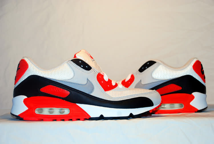 Then   Now    A Look Back At The History of The Original Air Max  90 ... 96e3c5b0f40f