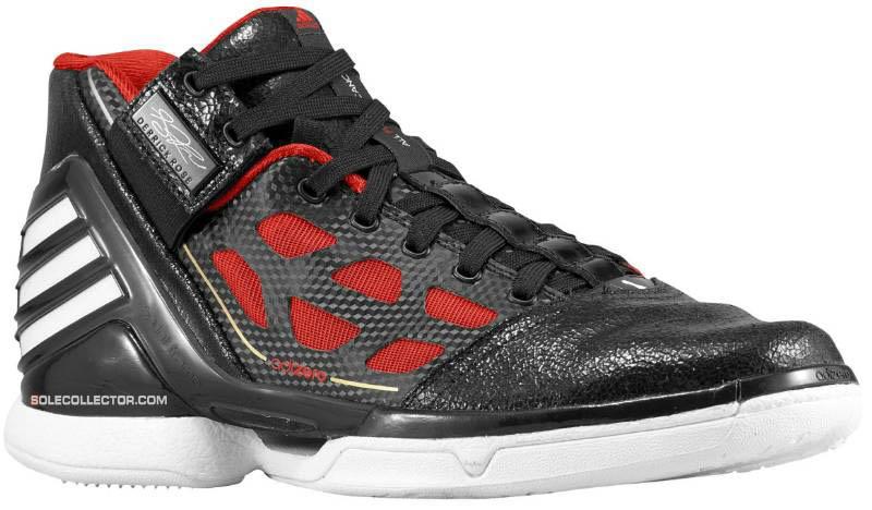 c363e83c341 adidas adiZero Rose 2.0 Black Red White G22887