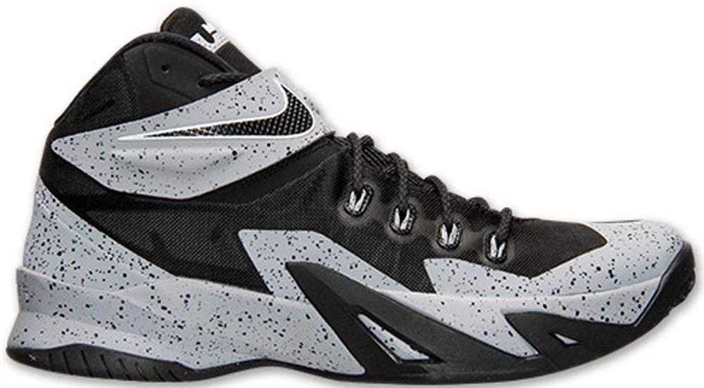 Nike Zoom Soldier VIII Premium Black/Black-Wolf Grey