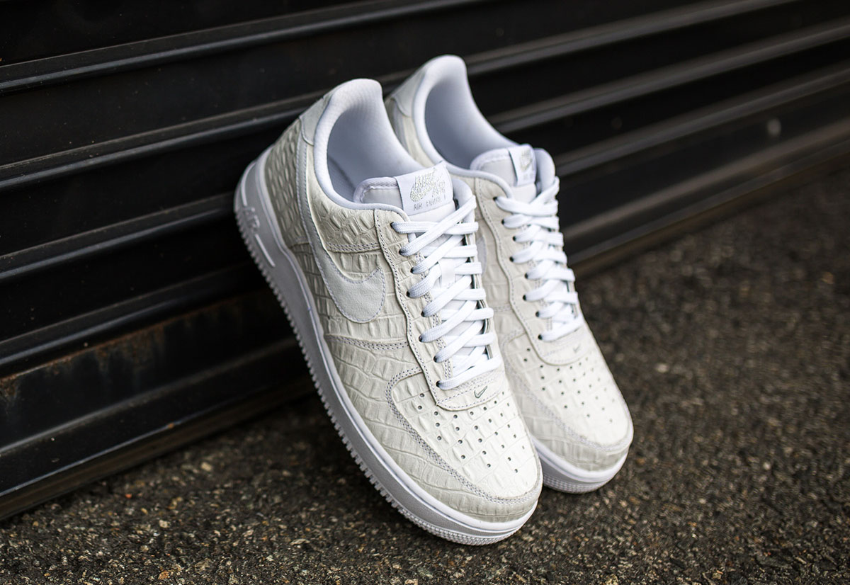 nike air force 1 low croc white 3 air force crocodile white