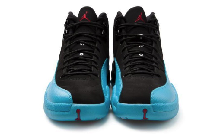 Air Jordan 12 Retro in Gamma Blue Black Gym Red front