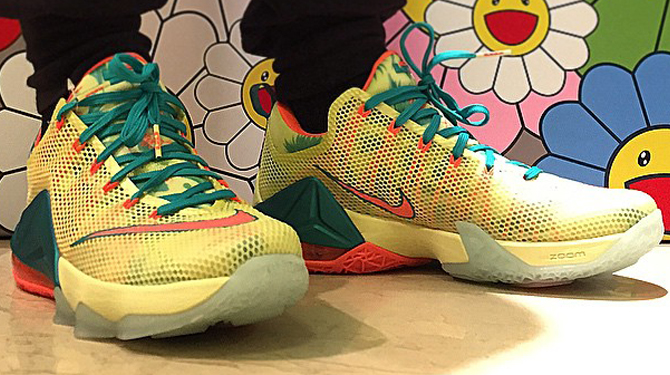 30fdeb758ba8 ... reduced promo code 6e7c5 384be heres what the lebronold palmer nike lebron  12 low looks 328b0