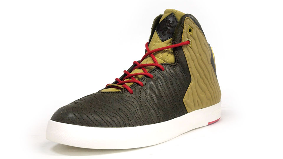 Nike LeBron 11 NSW Lifestyle Kings Pride in dark loden and parachute gold