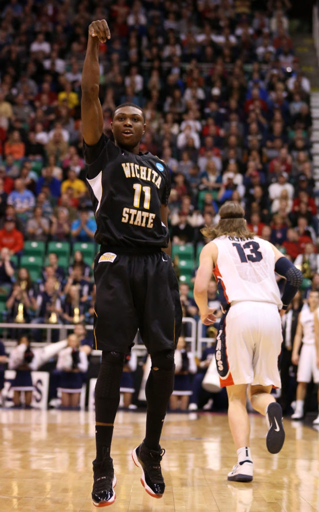 Cleanthony Early wearing Air Jordan XI 11 Black Red