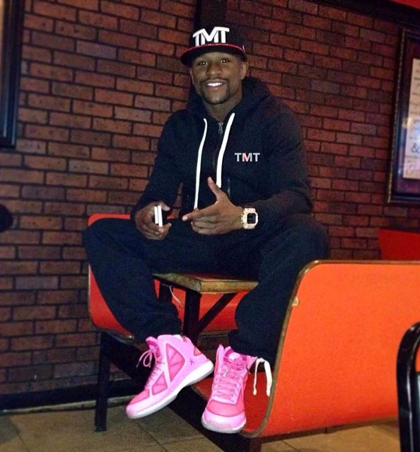 Floyd Mayweather wearing the APL Concept 3 BCA