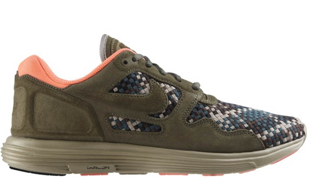 Nike Lunar Flow Woven QS Medium Olive/Black-Bamboo