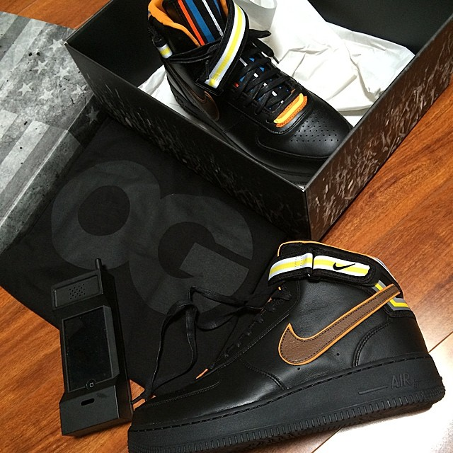 John Geiger Picks Up Nike Air Force 1 RT Black