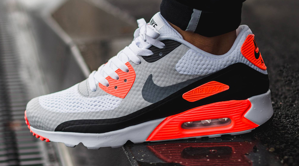 womens nike air max 90 ultra essential infrared