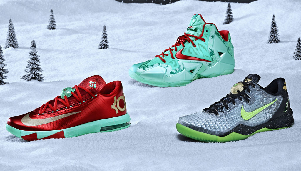 Poll // Best Nike Basketball Signature Christmas Pack // 2013