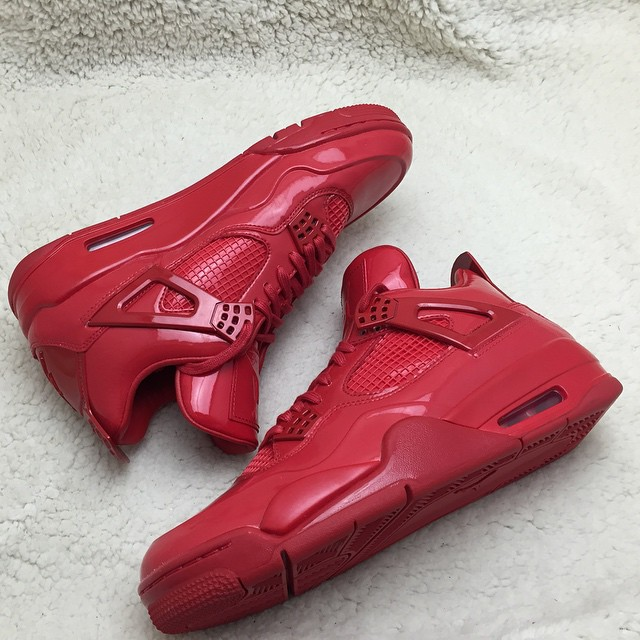 Air Jordan 11Lab4 Red 719864-600 (11)