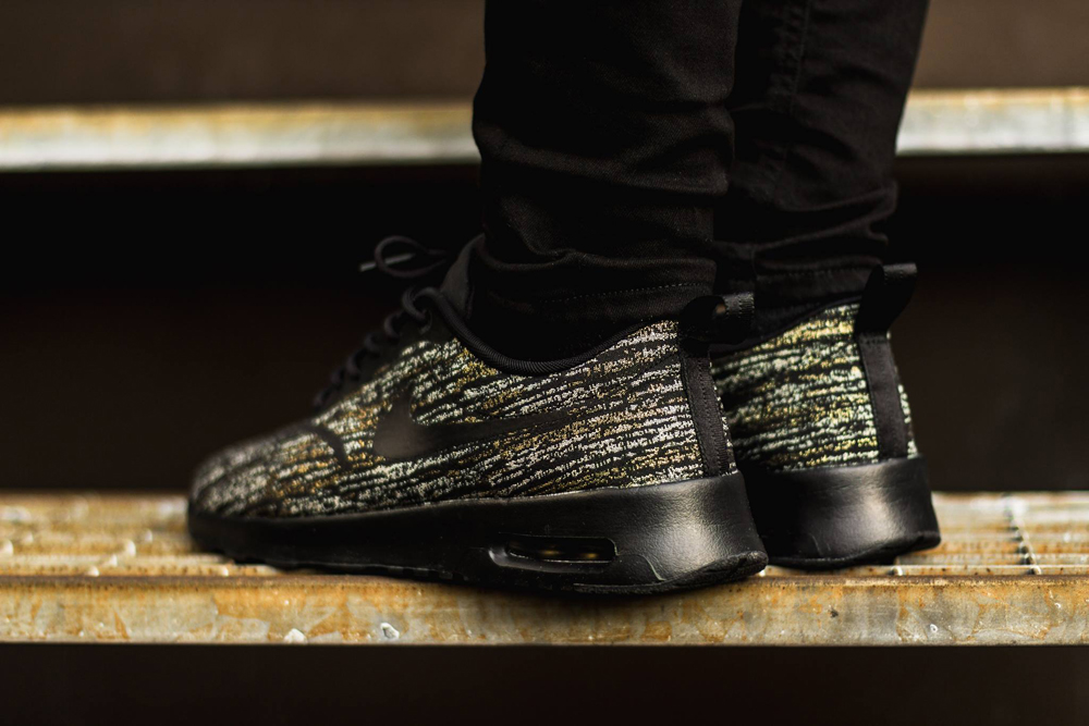 Gold Jacquard Textures for the Air Max Thea   Sole Collector