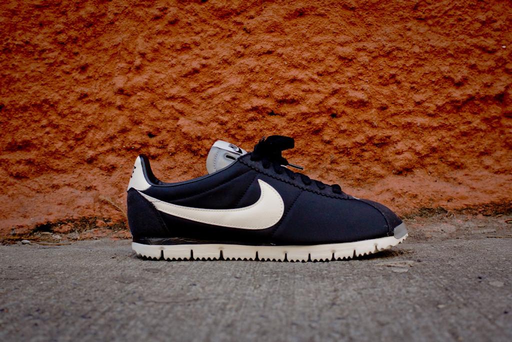 buy online 5723a 15759 Nike Cortez NM QS - Black Sail