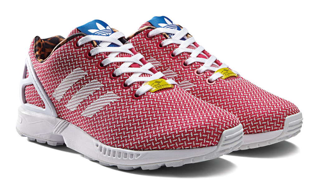 adidas ZX Flux Women's Weave Pack Red (6)