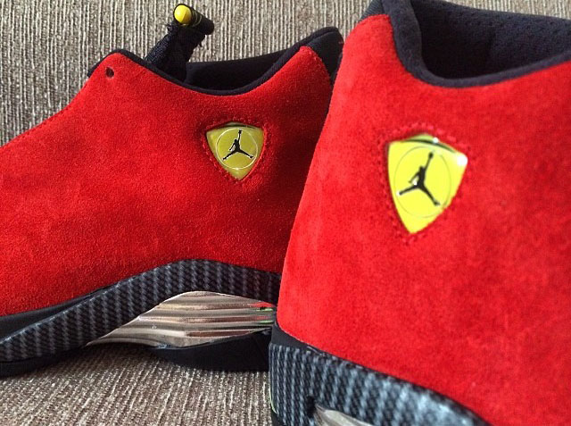 Air Jordan 14 XIV Red Suede (5)