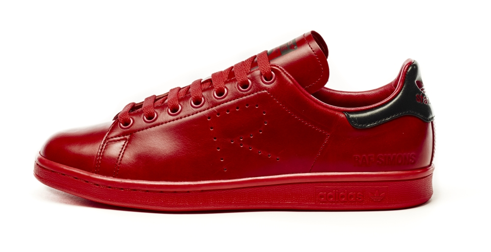 Raf Simons Adidas Stan Smith Red