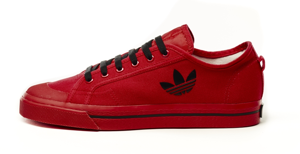 Raf Simons Adidas Matrix Spirit Low Red Black