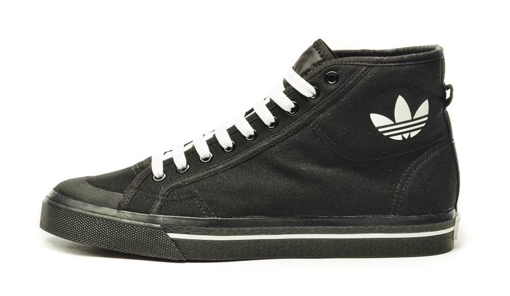 Raf Simons Adidas Matrix Spirit High Black White