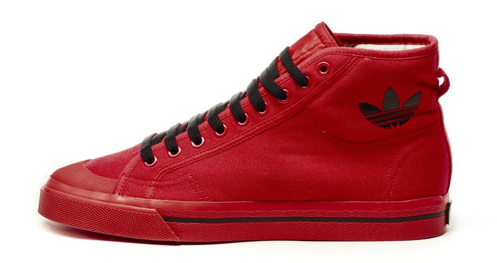 Raf Simons Adidas Matrix Spirit High Red