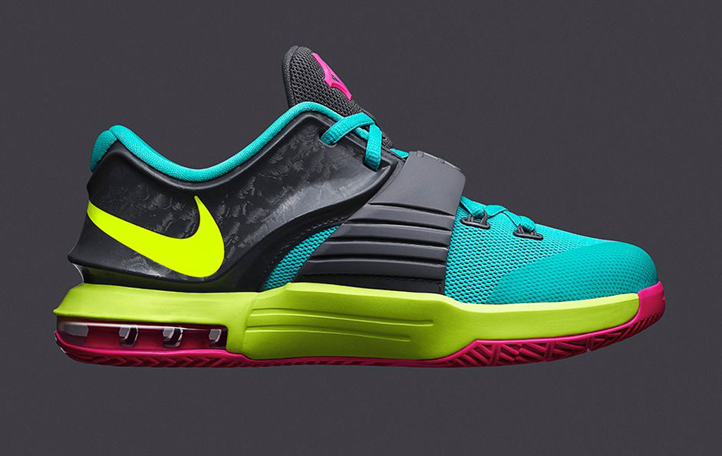 huge discount f8203 bc6a6 Nike KD VII GS  Carnival