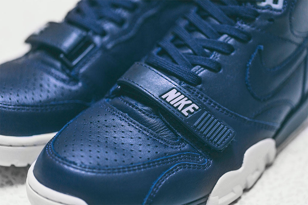 wholesale dealer 0922c deb2e fragment design x Nike Air Trainer 1 US Open Navy (3)