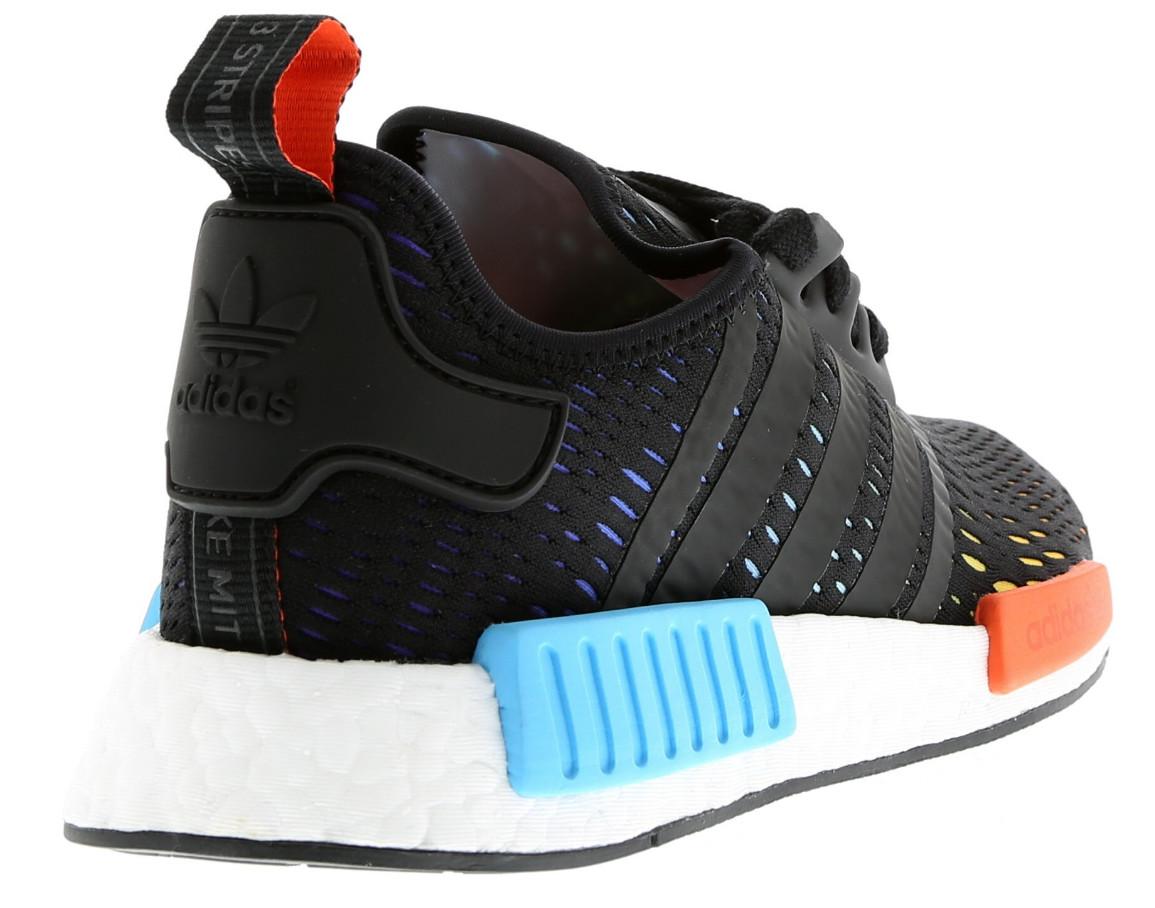 Rainbow Adidas NMD Heel