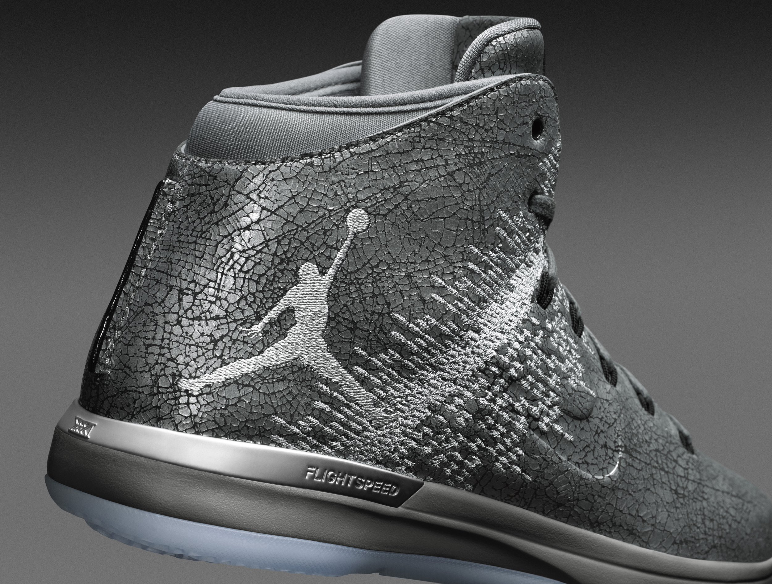 bb13844df5a1bd Image via Nike Jordan 31 Battle Grey 914293-013 Heel