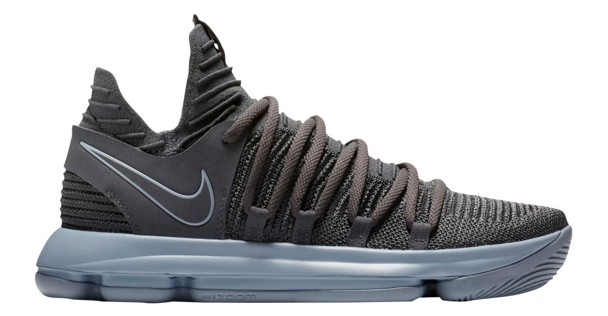 Nike KD 10 Dark Grey/Reflective Silver